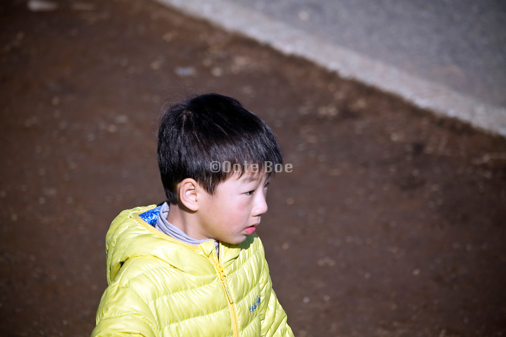 young boy Japan