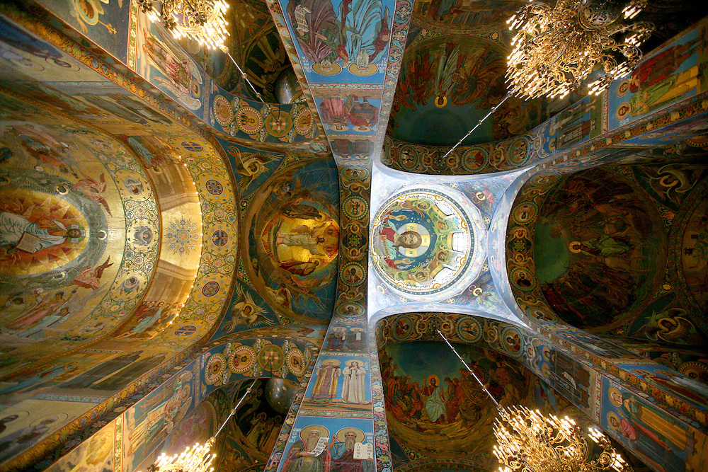 The Church of our Savior on Spilled Blood, St. Petersburg