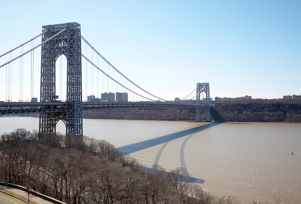 View of the George Washington Bridge from 875 West 181st Street