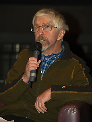 Pictured; Mike Valance   <br /> <br /> The Ken Loach film 'I, Daniel Blake' was given a special screening in Edinburgh today in front of  anti-austerity campaigners. The event was arranged by William Black who was joined by the screenwriter, Paul Laverty, Minister for Social Security in Scotland Jeane Freeman, Lewis Akers, member of the Scottish Youth Parliament for Dunfermline, Mikle Valance, ACE and Action Against Poverty, Bill Scott, Inclusion Scotland with Sasha Gallagher afrom Disability History Scotland acting as co-ordinater of the Q&A. <br /> <br /> (c) Ger Harley | Edinburgh Elite media