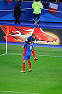 Olivier Giroud (FRA) scored the second goal and celebrated it with Kylian Mbappe (FRA) during the 2017 Friendly Game football match between France and Wales on November 10, 2017 at Stade de France in Saint-Denis, France - Photo Stephane Allaman / ProSportsImages / DPPI