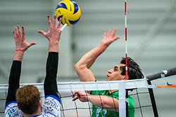 Cas Abraham of SSS in action during the league match between Bielderman Koetsier/SSS vs. Amysoft Lycurgus on January 23, 2021 in Barneveld.