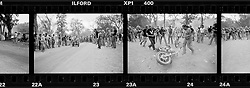 Crash, City Park. Sturgis, SD, 1981<br /> <br /> Limited Edition Print from an edition of 50. Photo ©1981 Michael Lichter.