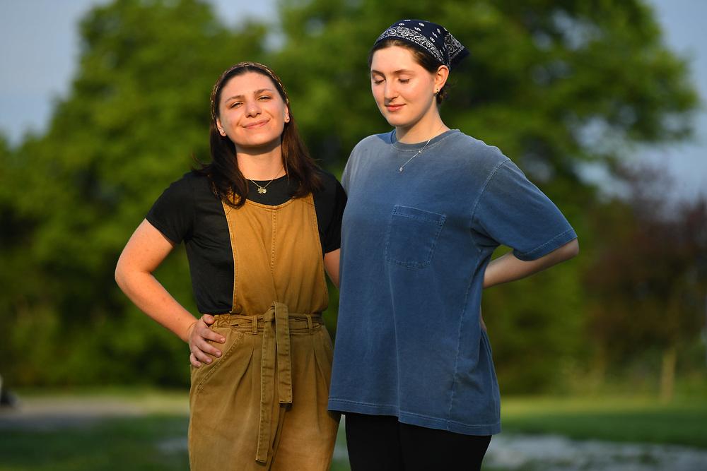 7/6/20 6:53:20 AM  -- Shai Bardin and Carolyn Rogers --    Photo by Jack Gruber