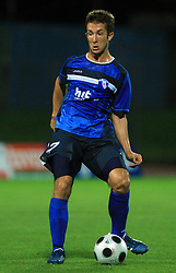 Dario Smitran of Gorica during 2nd match of 1st round Intertoto Cup soccer match between ND Gorica and Hibernians FC at Sports park, on June 28,2008, in Nova Gorica, Slovenia. (Photo by Vid Ponikvar / Sportal Images)