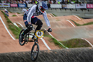 #65 (PHILLIPS Liam) GBR at the 2016 UCI BMX World Championships in Medellin, Colombia.