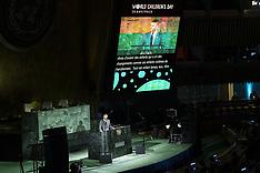 David Beckham Speaks At The UN - 20 Nov 2019