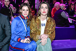 Charlotte Casiraghi on the front row during the Gucci catwalk show during Milan Fashion Week 2017