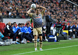 02.11.2011, Amsterdam Arena. Amsterdam, NED, UEFA Champions League, Vorrunde, Ajax Amsterdam (NED) vs Dinamo Zagreb (CRO), im Bild Sime Vrsaljko// during Ajax Amsterdam (NED) vs Dinamo Zagreb (CRO), at Amsterdam Arena, Amsterdam, NED, 2011-11-02. EXPA Pictures © 2011, PhotoCredit: EXPA/ nph/                                                                                                     Foto ©  nph / PIXSELL / Marko Lukunic       ****** out of GER / CRO  / BEL ******