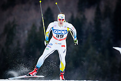 Lindblad Anton (SWE) during Man 1.2 km Free Sprint Qualification race at FIS Cross<br /> Country World Cup Planica 2016, on January 16, 2016 at Planica,Slovenia. Photo by Ziga Zupan / Sportida