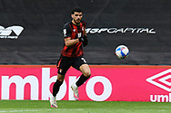 Dominic Solanke (9) of AFC Bournemouth on the attack during the EFL Sky Bet Championship match between Bournemouth and Stoke City at the Vitality Stadium, Bournemouth, England on 8 May 2021.