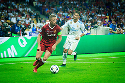 Jordan Henderson of Liverpool during the UEFA Champions League final football match between Liverpool and Real Madrid at the Olympic Stadium in Kiev, Ukraine on May 26, 2018.Photo by Sandi Fiser / Sportida