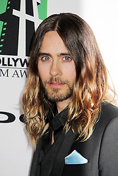 21.10.2013, Beverly Hilton Hotel, Beverly Hills, USA, Annual Hollywood Film Awards Gala, im Bild Jared Leto // Jared Leto during a photoshooting for the 17th Annual Hollywood Film Awards Gala held at the Beverly Hilton Hotel in Beverly Hills, United States on 2013/10/23. EXPA Pictures © 2013, PhotoCredit: EXPA/ Photoshot/ Photoshot/ Izumi Hasegawa<br /> <br /> *****ATTENTION - for AUT, SLO, CRO, SRB, BIH, MAZ only*****