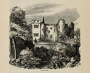 Poolley Hall From the book The wanderings of a pen and pencil by Palmer, F. P. (Francis Paul); Illustrated by Crowquill, Alfred, [Alfred Henry Forrester]  Published in London by Jeremiah How in 1846