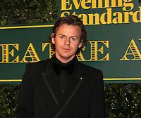 Christopher Kane, London Evening Standard Theatre Awards, Theatre Royal Drury Lane, London UK, 03 December 2017, Photo by Richard Goldschmidt