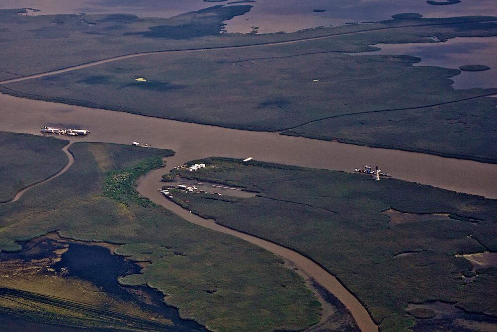 Port Eads, South Pass, Louisiana, USA