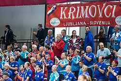Fans of RK Krim Mercator during Handball match between RK Krim Mercator vs Vipers Kristiansand in Main Round of EHF Woman's Champion League 2018/19, on January 26, 2019 in Kodeljevo, Ljubljana, Slovenia. Photo by Matic Ritonja / Sportida