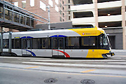 Minnesota, USA, Minneapolis, The Minneapolis Metro transit Downtown November 2006