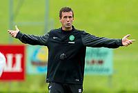 02/07/14<br /> CELTIC TRAINING<br /> AUSTRIA<br /> Celtic Manager Ronny Deila at pre-season training