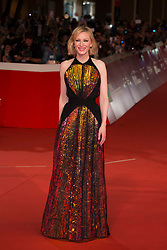 ITALY OUT - Cate Blanchett walks the red carpet ahead of the 'The House With A Clock In Its Walls' screening during the 13th Rome Film Fest at Auditorium Parco Della Musica on October 19, 2018 in Rome, Italy. Photo by Alessia Paradisi/ABACAPRESS.COM