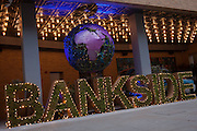 A large sign for Bankside, on 13th January 2017 in London, England.