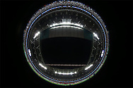 a fisheye image of inside Wembley Stadium. UEFA Champions league match, group E, Tottenham Hotspur v AS Monaco at Wembley Stadium in London on Wednesday 14th September 2016.<br /> pic by John Patrick Fletcher, Andrew Orchard sports photography.