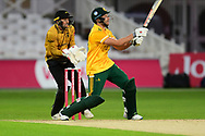 Alex Hales of Nottinghamshire during the Vitality T20 Blast North Group match between Nottinghamshire County Cricket Club and Leicestershire County Cricket Club at Trent Bridge, Nottingham, United Kingdom on 4 September 2020.