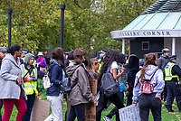 Save our Children  rally at Hyde Park and March to the BBC 10th oct 2020 photo Mark Anton Smith