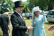 GEORGE PISKOVA, Lunch part hosted by Liz Brewer and Mrs. George Piskova in No; 1 car-park. . Royal Ascot. Tuesday. 14 June 2011. <br /> <br />  , -DO NOT ARCHIVE-© Copyright Photograph by Dafydd Jones. 248 Clapham Rd. London SW9 0PZ. Tel 0207 820 0771. www.dafjones.com.