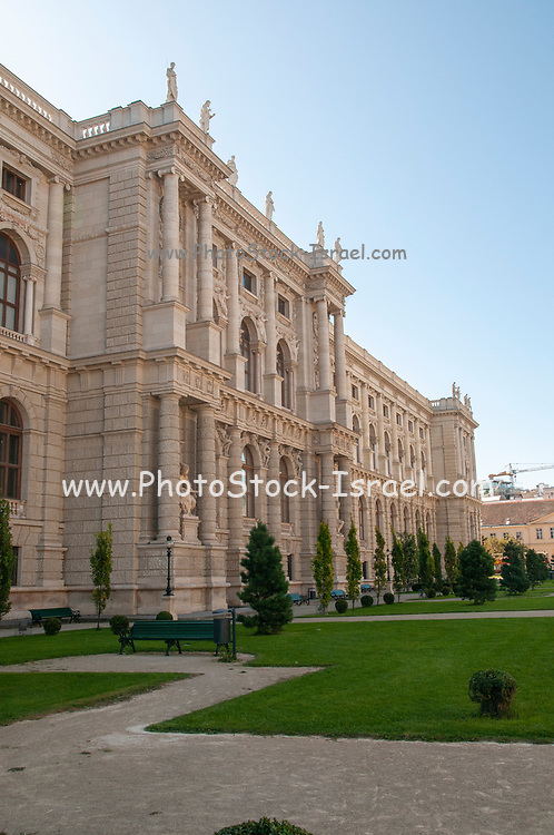 Exterior of the Natural History Museum, Museum platz, Vienna, Austria