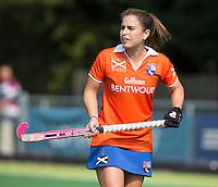 AMSTELVEEN - HOCKEY - Jayde Taylor van Bloemendaal tijdens de eerste competitiewedstrijd van het nieuwe seizoen tussen de vrouwen van Pinoke en Bloemendaal. COPYRIGHT KOEN SUYK