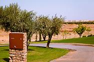 06-10-2015 -  Foto van Exit bij Assoufid Golf Club in Marrakech, Marokko. De 18 holes van de Assoufid Golf Club zijn ontworpen door Niall Cameron. Bij helder weer bieden enkele holes fraaie uitzichten op het Atlas gebergte.