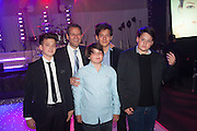 KAI SCHACTER; KENNY SCHACHTER; SAYE SCHACTER; GABRIEL SCHACTER; ADRIAN SCHACTER, Gabrielle's Gala 2013 in aid of  Gabrielle's Angels Foundation UK , Battersea Power station. London. 2 May 2013.