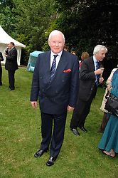 SIR DONALD GOSLING at a reception for the Friends of The Castle of Mey held at The Goring Hotel, London on 20th May 2008.<br /><br />NON EXCLUSIVE - WORLD RIGHTS