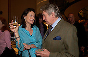 Christine Odone and Don McCullin. Book party for LAST VOYAGE OF THE VALENTINA by Santa Montefiore (Hodder & Stoughton) Asprey,  New Bond St. 12 April 2005. ONE TIME USE ONLY - DO NOT ARCHIVE  © Copyright Photograph by Dafydd Jones 66 Stockwell Park Rd. London SW9 0DA Tel 020 7733 0108 www.dafjones.com