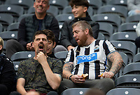 Football - 2021 / 2022  EFL Carabao Cup - Round Two - Newcastle United vs Burnley - St Jame's Park - Wednesday 25th August 2021<br /> <br /> Newcastle United fans are seen before the game<br /> <br /> Credit: COLORSPORT/Bruce White