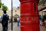 Antique letter box. The Rocks, Sydney, Australia