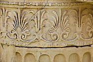 Architectural Detail of the Acropolis in Athens, Greece