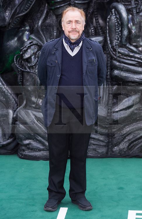 © Licensed to London News Pictures. 04/05/2017. London, UK. BRIAN COX attends the Alien: Covenant world film premiere. Photo credit: Ray Tang/LNP