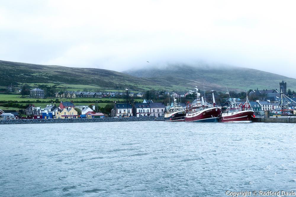 The harbor in Dingle, Ireland