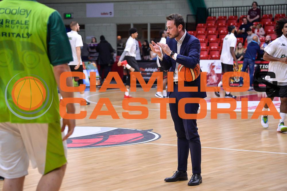 Giorgio Gerosa<br /> Leicester Riders BC - Banco di Sardegna Dinamo Sassari<br /> Fiba Europe Cup Gruppo H 2018-2019<br /> Leicester, 17/10/2018<br /> Foto L.Canu / Ciamillo-Castoria