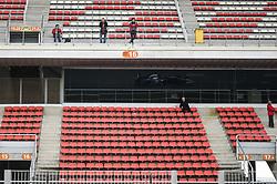February 19, 2019 - Barcelona, Spain - Thai driver Alexander Albon of Italian team Red Bull Toro Rosso Honda driving his single-seater STR14 during Barcelona winter test in Catalunya Circuit in Montmel?, Spain, on February 19, 2019. (Credit Image: © Andrea Diodato/NurPhoto via ZUMA Press)