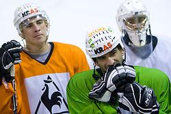 Raffaele Intranuovo at ice hockey practice of HDD Tilia Olimpija,  on October 16, 2008 in Arena Tivoli, Ljubljana, Slovenia.  (Photo by Vid Ponikvar / Sportal Images)