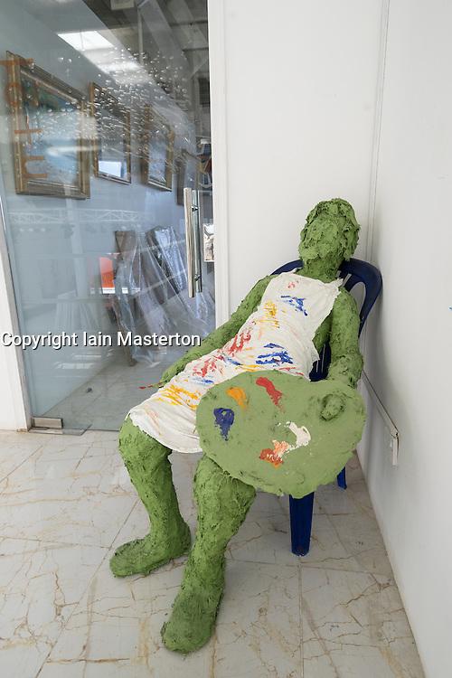 Sculpture in Abu Dhabi Art Hub in Abu Dhabi United Arab Emirates