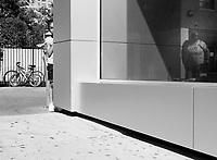 Peek-a-boo at East 110th Street near Fifth Avenue, New York City