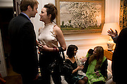 MICHAEL UPCHURCH; RACHEL STIRLING; SHARON STIRLING; CLEMENTINE FRASER, Book launch for American's in Paris by Charles Glass hosted by Lady Annabel Lindsay. Holland Park. London. 25 March 2009 *** Local Caption *** -DO NOT ARCHIVE-© Copyright Photograph by Dafydd Jones. 248 Clapham Rd. London SW9 0PZ. Tel 0207 820 0771. www.dafjones.com.<br /> MICHAEL UPCHURCH; RACHEL STIRLING; SHARON STIRLING; CLEMENTINE FRASER, Book launch for American's in Paris by Charles Glass hosted by Lady Annabel Lindsay. Holland Park. London. 25 March 2009