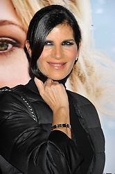 """Pamela Prati Dress Elisabetta Franchi attending the """"The Christmas Dinner"""" premiere held in Rome, Italy."""