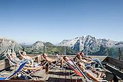 Trentino, Località Col Rodella, rifugio Col Rodella