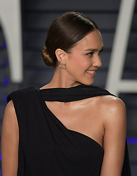 February 24, 2019 - Beverly Hills, California, U.S - Jessica Alba at the 2019 Vanity Fair Oscar Party held at the Wallis Annenberg Center in Beverly Hills, California on Sunday February 24, 2019. JAVIER ROJAS/PI (Credit Image: © Prensa Internacional via ZUMA Wire)