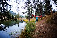 Mia Strickland at Estes Park, COLORADO